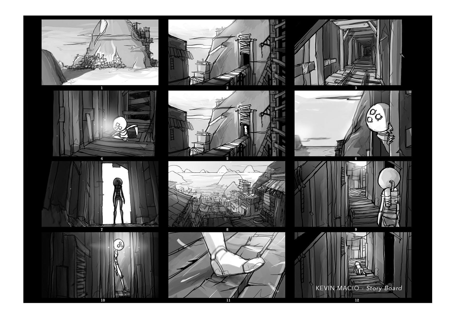 ECV Bordeaux - Storyboard