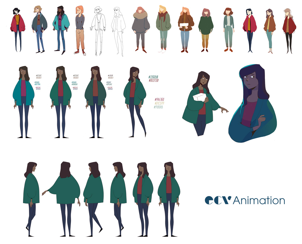 ECV Bordeaux - Character Design